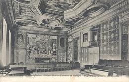 1118. RENNES . PALAIS DE JUSTICE . SALLE DE L'ANCIEN PARLEMENT DE BRETAGNE.MAGNIFIQUES TAPISSERIES DES GOBELINS - Rennes