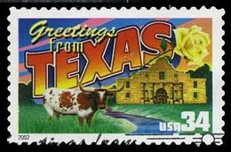 Etats-Unis / United States (Scott No.3603 - 34¢ Greetings From America) (o) Very Fine - United States