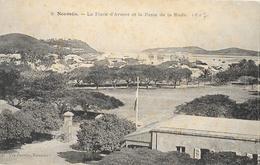Nouméa - La Place D'Armes Et La Passe De La Rade - Edition Vve Daroux - Carte Non Circulée - Nouvelle-Calédonie