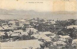 Nouméa Et L'Ile Nou - Edition Vve Daroux - Carte Non Circulée - Nuova Caledonia