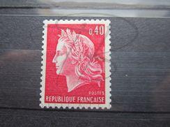 VEND BEAU TIMBRE DE FRANCE N° 1536Bc , X !!! - 1967-70 Marianne Of Cheffer