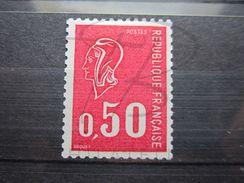 VEND BEAU TIMBRE DE FRANCE N° 1664e , X !!! - 1971-76 Maríanne De Béquet