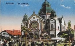 Subotica (Serbie) - Szabadka - Jzr. Templom - Edition Lipsitz - Carte Colorisée, Non Circulée - Serbia