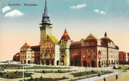Subotica (Serbie) - Szabadka - Varoshaza - Edition Lipsitz - Carte Colorisée, Non Circulée - Serbia