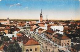 Subotica (Serbie) - Szabadka - Latkep - Edition K.J. Bp - Carte Colorisée Non Circulée - Serbia