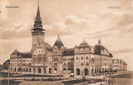 Subotica (Serbie) - Szabadka - Varoshaza - Edition Vasuti Levelezolaparusitas - Carte Sépia - Serbia