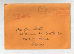 Lettre, ETATS UNIS , ATLANTA , 1988 , GA 303 , U.S. POSTAGE , 00,90 , Via Air Mail - Poststempel