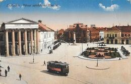 Subotica (Serbie) - Szabadka - Varosi Szinhaz és Kassino, Tramway - Edition L. és L. - Carte Colorisée - Serbia