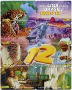 Puzzle 8 Télécartes Brésil Phonecard  Telefonkarte P47 - Brésil