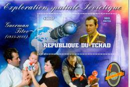 Chad 2013 Stamps Vostok-2 Spacecraft Spaceman Gherman Titov MS B - Space