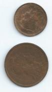 2 CENTIMES Et 1 CENTIME DUPUIS  FRANCE 1898 TTB Port 0,75 - Frankrijk