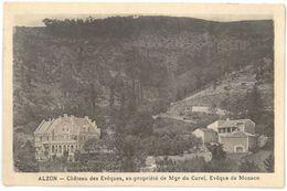 CPA ALZON - Château Des Evêques , Ex-propriété De Mgr Du Curel , Evêque Du Monaco - Ed. Pradel - France