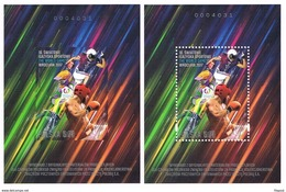 World Games Wroclaw 2017 Polish Post Official Issue As Set Two Of Souvenir Sheet MNH - Unused Stamps