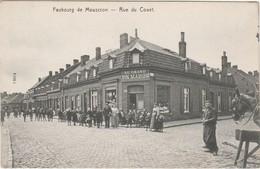 Faubourg De Mouscron Moeskroen. Rue Du Couet. Au Grand Bon Marché (avant Delhaize) Prés De Luingne, Rekkem Et Herseaux. - Mouscron - Möskrön