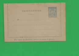 Carte Lettre Sage 15 Centimes - Storia Postale