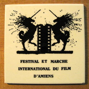 CARREAU FESTIVAL ET MARCHE INTERNATIONAL DU FILM D'AMIENS / CERABATI CHATEAUROUX MADE IN FRANCE 8.6.85. - Merchandising
