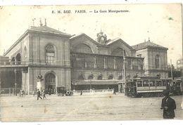 PARIS.  La Gare Montparnasse. - Arrondissement: 14