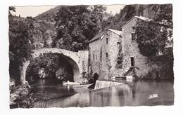 12 Environs De NANT Vers La Cavalerie N°204 Moulin De Corps Vallée De La Dourbie Beau Pont - La Cavalerie