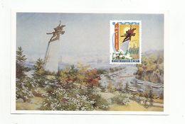 COREE DU NORD CPM REPRODUCTION TP STATUE DE CHOLLIMA - Korea, North