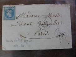 Du 20.09.17_LSC De ,variété Suarnet  12 Bis Sur N°29; Illustrée ,départ 1€!!!!!! Plus Taches!! - 1863-1870 Napoléon III Lauré