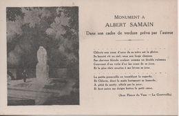 LILLE MONUMENT A ALBERT SAMAIN - Lille
