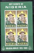 BF15 - NIGERIA 1965 , Yvert N. 5  ***  MNH . Il BF Sugli Scouts - Nigeria (1961-...)