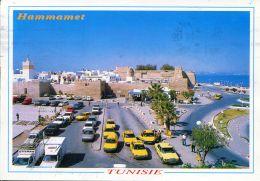 N°55700 GF-cpsm Les Taxis à Hammamet - Taxi & Carrozzelle