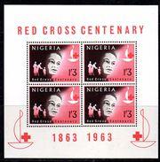BF23 - NIGERIA 1963 , Red Cross Yvert N. 2  ***  MNH . Il BF Sulla Croce Rossa - Nigeria (1961-...)