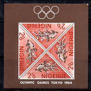 BF53 - NIGERIA 1964 , Olimpiadi Tokyo Yvert N. 4  ***  MNH . Il BF - Nigeria (1961-...)