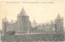 Forchies NA2: Environs De Fontaine-l'Evêque.Ferme De La Marche 1905 - Fontaine-l'Evêque