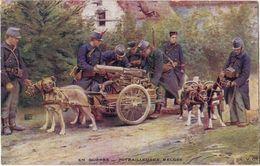 En Guerre - Mitrailleuses Belges - Guerre 1914-18