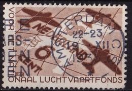 1935 Luchtvaartfondszegel Gestempeld NVPH 278 - Periode 1891-1948 (Wilhelmina)