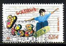 FRANCE. N° 3691 De 2004 Oblitéré. Skateboard. - Skateboard
