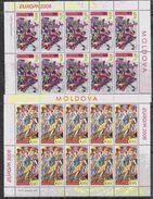 Europa Cept 2006 Moldova 2v Sheetlets ** Mnh (36832) - Europa-CEPT