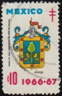 MEXICO - YW1462 Jalisco Coat Of Arms / Used Stamp - Stamps