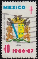 MEXICO - YW1463 Lerma Coat Of Arms / Used Stamp - Stamps