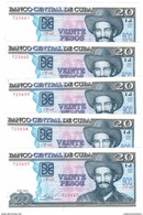 Cuba 20 Pesos 2015 , AUNC. (3.00 Usd X 1 Piece) No Paypal For This Kind Of Item.  FREE SHIP. TO USA.0 - Cuba