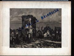 HUYGENS 1916, HELIOGRAVURE 232 X 180mm, Nieuport, La Place, Militaria - Dessins