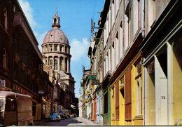 N°55718 -cpsm Boulogne Sur Mer -notre Dame De Boulogne- Panhard- - Boulogne Sur Mer
