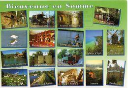 BIENVENUE EN SOMME - (ALBERT-FROISSY-VALLOIRES-PERONNE-AMIENS-RAMBURES-MARQUENTERRE-AULT-NAOURS-MAINTENAY) - France