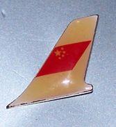 älterer Pin CAAC (China Staats-Airline) - Leitwerk - Transport Und Verkehr