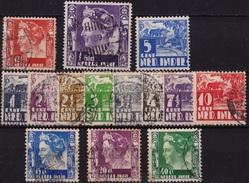Ned. Indië: 1934-37 Karbouw / Koningin Wilhelmina Restant - Nederlands-Indië