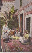 JUDAICA . ALGERIE . Au Harem ( Groupe De Femmes Juives D'Alger En Costume Traditionnel ) LEHNERT & LANDROCK  N°507 - Judaisme