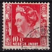 Ned. Indië: PENDOPO (557) Op 1938-40 Koningin Wilhelmina 10 Cent Rood Met WM Ringen NVPH 253 - Indes Néerlandaises