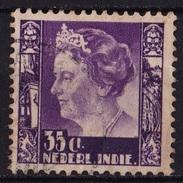 Ned. Indië: 1934 Koningin Wilhelmina 35 Ct Violet NVPH 202 - Indes Néerlandaises