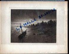 HUYGENS , Eau Forte, Nieuport Bains, La Plage, Militaria - Dessins