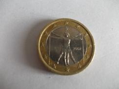Monnaie Pièce De 1 Euro De Italie Année 2002 Valeur Argus 3 € - Italy