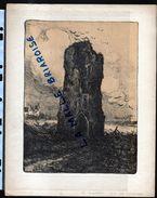 HUYGENS , Lithographie, Nieuport Tour Des Templiers, Militaria - Drawings