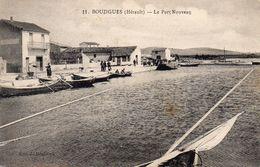Cpa 1924 BOUZIGUES, Port Nouveau, Barques à Rames Ou à Voile, (52.01) - Altri Comuni