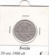 SVEZIA   50 ORE  ANNO 1906  COME DA FOTO - Svezia